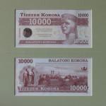 balatoni korona 10000